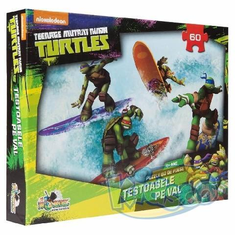 Puzzle 60 piese Teenage Mutant Ninja Turtles