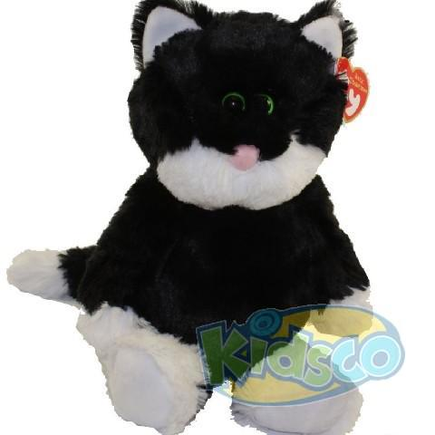 AT BESSIE - black/white cat 24 cm