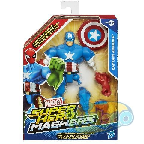 AVN SUPER HERO MASHERS 6IN FIGURE AST