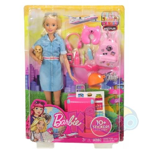 "Barbie Set ""In calatorie"""