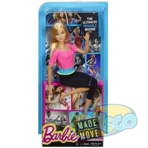 Barbie Papusa Fitness ast