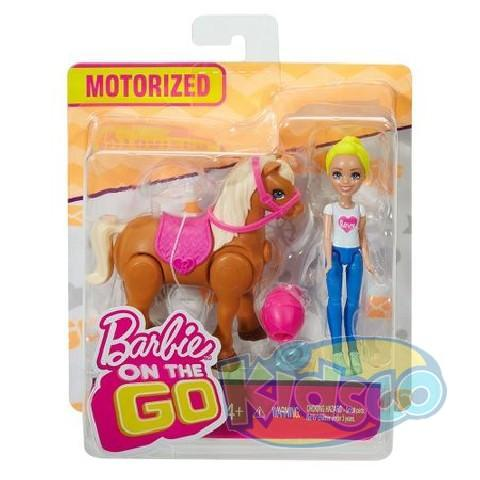 "Barbie set cu transport seria ""On the Go"" ast"