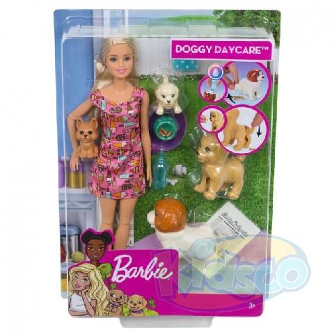 "Barbie Set ""Grija de animale"""