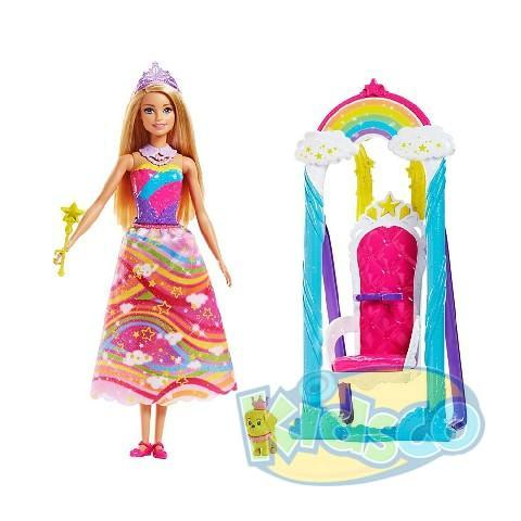 "Barbie set Leagan cu papusa ""Dreamtopia"""