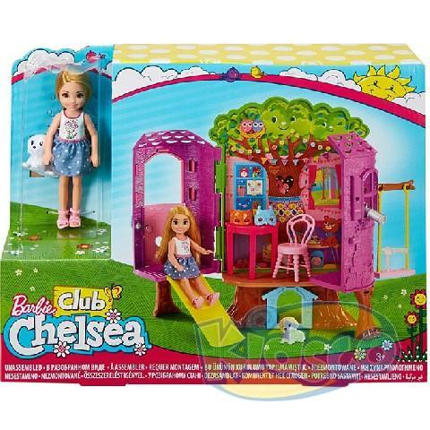 Barbie Treehouse and Chelsea