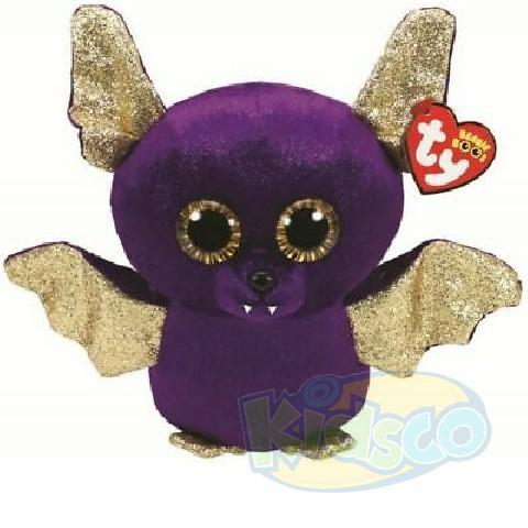 BB COUNT - purple bat with gold wings 15 cm
