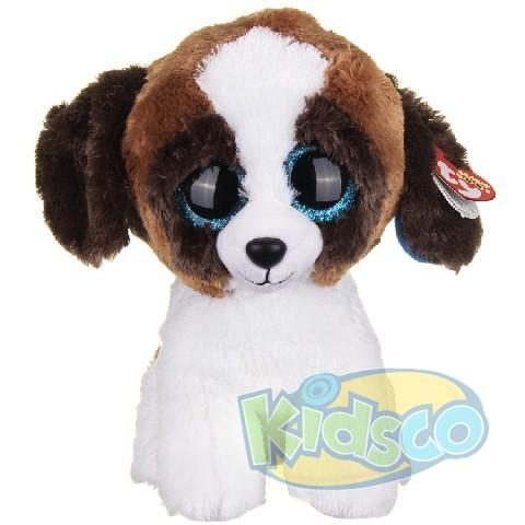 BB DUKE - brown white dog 15 cm