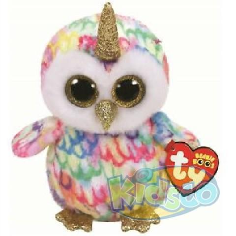 BB ENCHANTED - owl with horn 15 cm