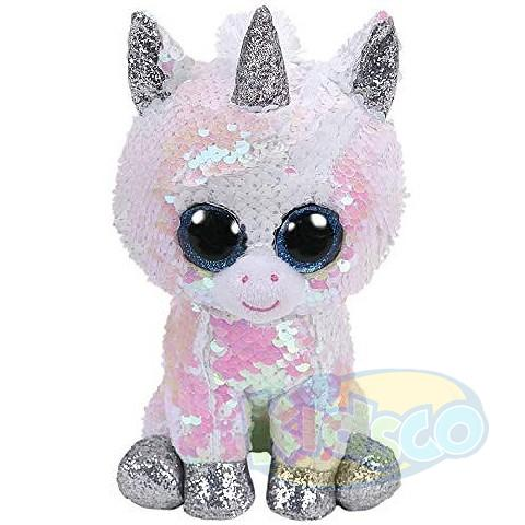 BB Flippables DIAMOND - white unicorn 24 cm