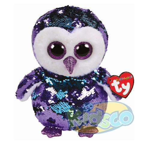 BB Flippables MOONLIGHT - purple owl 24 cm