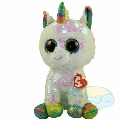 BB Flippables PIXY - white unicorn 15 cm