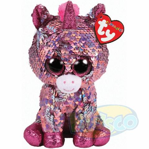 BB Flippables SPARKLE - pink unicorn 15 cm