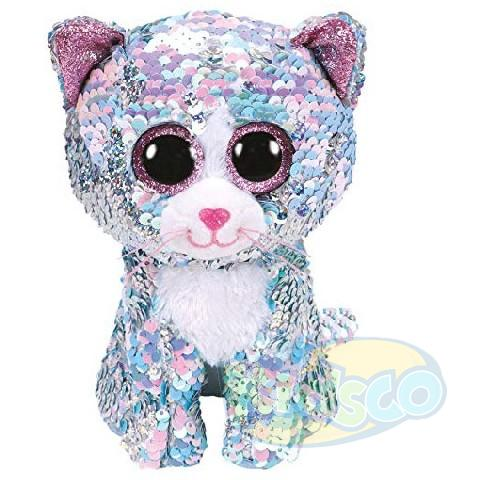 BB Flippables WHIMSY - blue cat 24 cm
