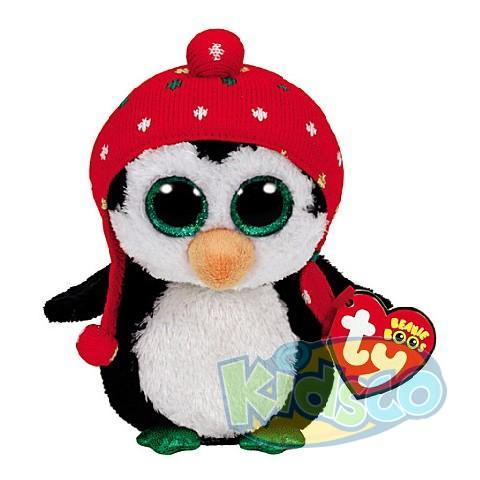 BB FREEZE - penguin with knit hat 24 cm