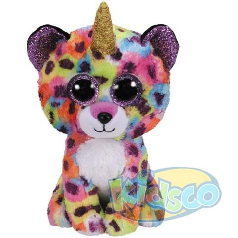 BB GISELLE - rainbow leopard with horn 15 cm