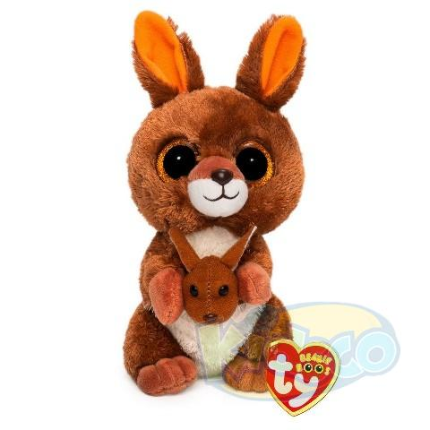 BB KIPPER - brown kangaroo 24 cm