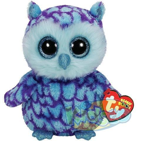 BB OSCAR - blue/purple owl 24 cm