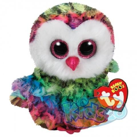 BB OWEN - multicolor owl 15 cm