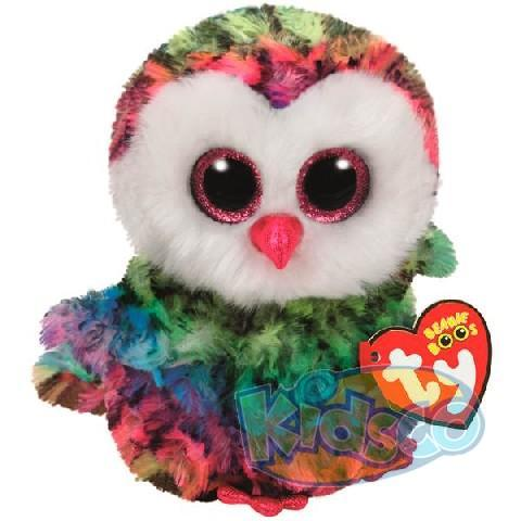 BB OWEN - multicolor owl 24 cm
