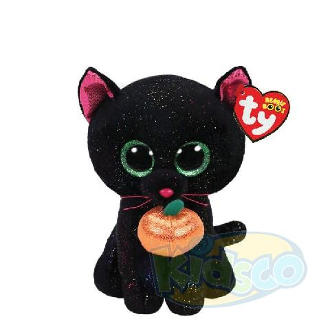 BB POTION - black cat with pumpkin 15 cm