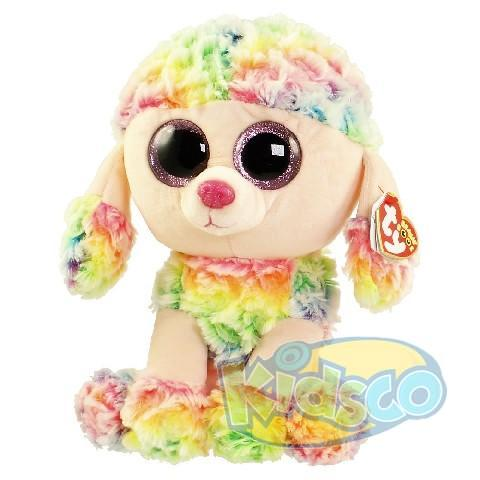 BB RAINBOW - multicolor poodle 24 cm
