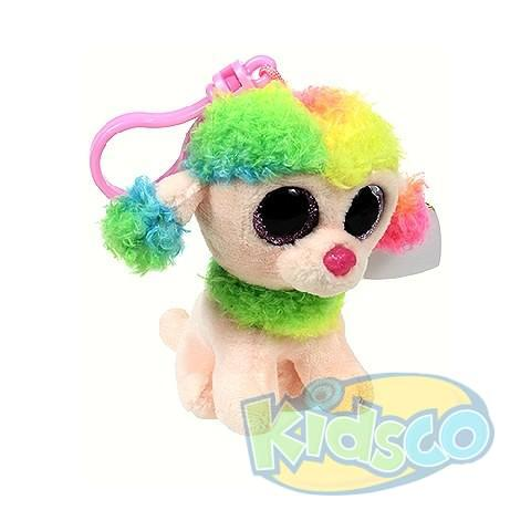 BB RAINBOW - multicolor poodle 8,5 cm