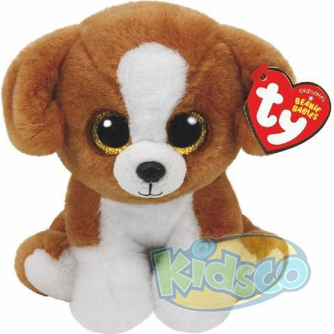 BB SNICKY - brown-white dog 15 cm