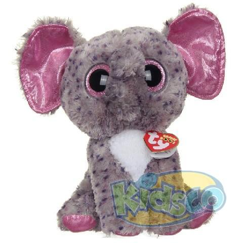 BB SPECKS - grey speckled elephant 24 cm
