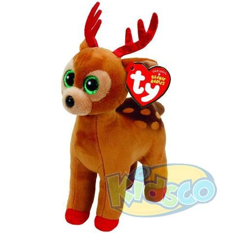 BB TINSEL - brown reindeer 15 cm