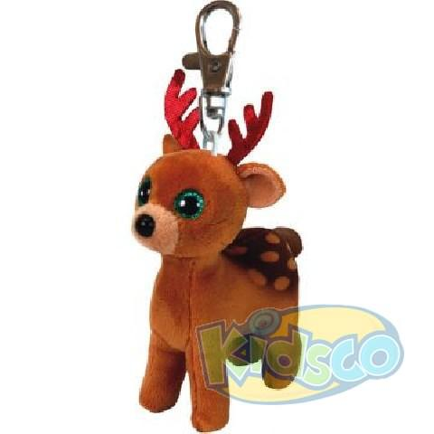 BB TINSEL - brown reindeer 8,5 cm