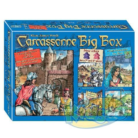 CARCASSONNE BIG BOX 5 (2014)