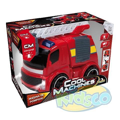 cool machines pompieri cu lumini si sunete
