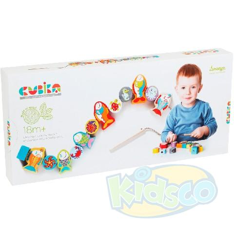 "Cubika ""Fishes lacing toy"""