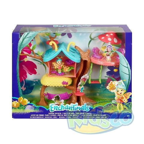 Enchantimals Butterfly Clubhouse Playset