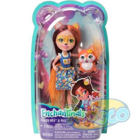 "Enchantimals Papusa ""Felicity Fox"" new"