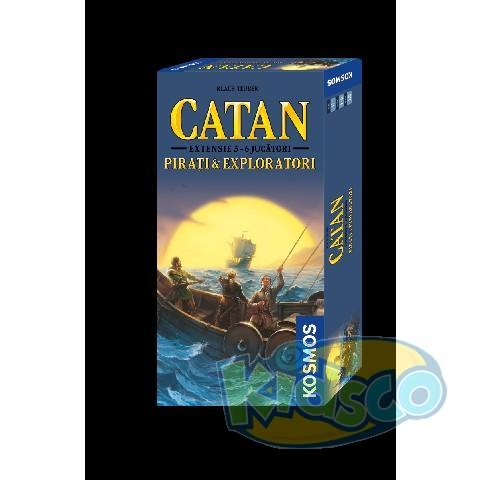 EXTENSIE 5/6 PIRATI&EXPLORATORI-CATAN