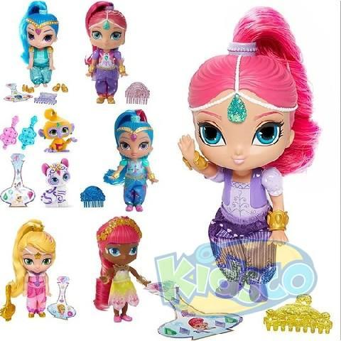 "Fisher Price Papusa ""Shimmer and Shine"" ast."