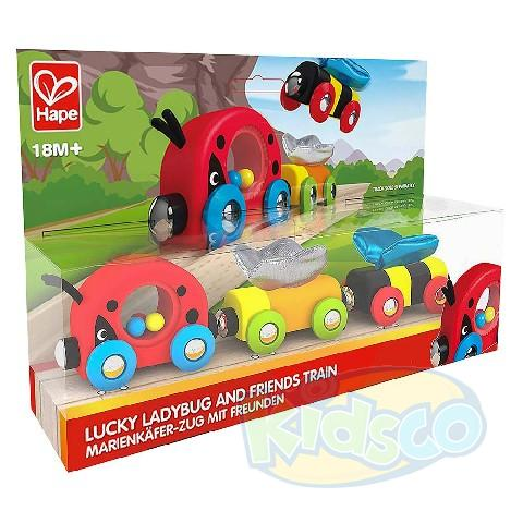HAPE-LUCKY LADYBUG AND FRIENDS