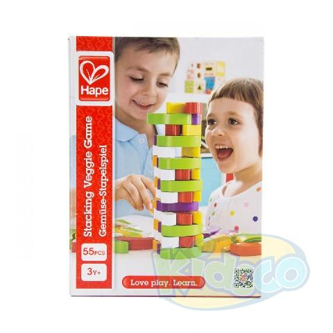 HAPE-STACKING VEGGI GAME
