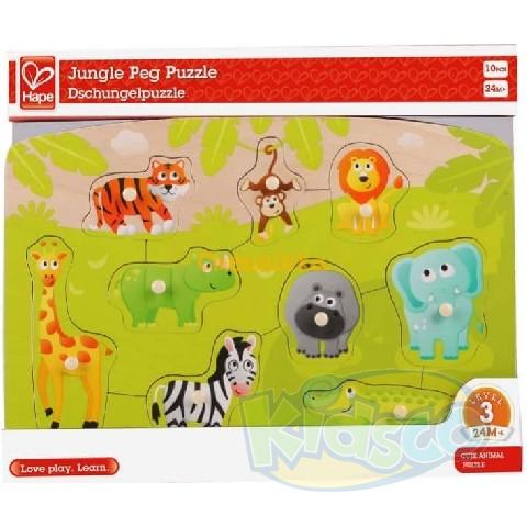 HAPE-JUNGLE PEG PUZZLE