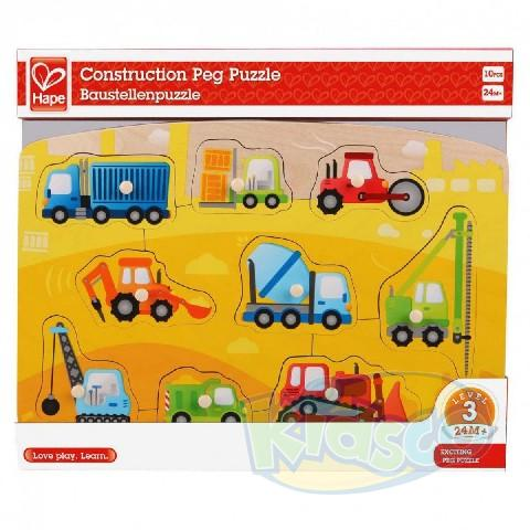 HAPE-CONSTRUCTION PEG PUZZLE