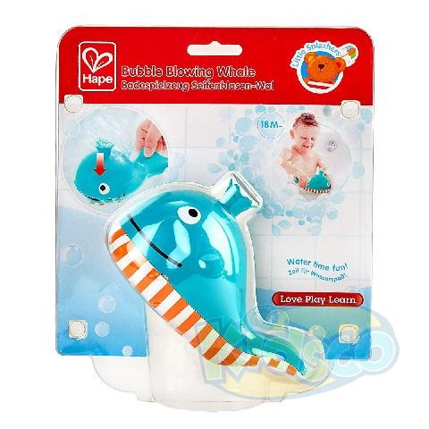 HAPE-BUBBLE BLOWING WHALE