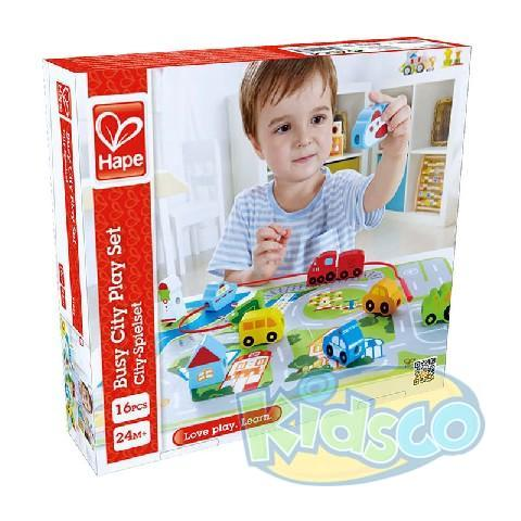 HAPE-BUSY CITY PLAY SET