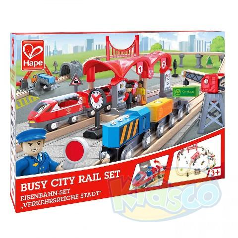 HAPE-BUSY CITY RAIL SET