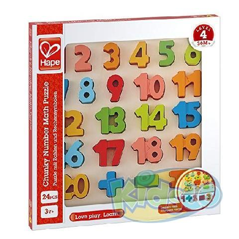 HAPE-CHUNKY NUMBER PUZZLE
