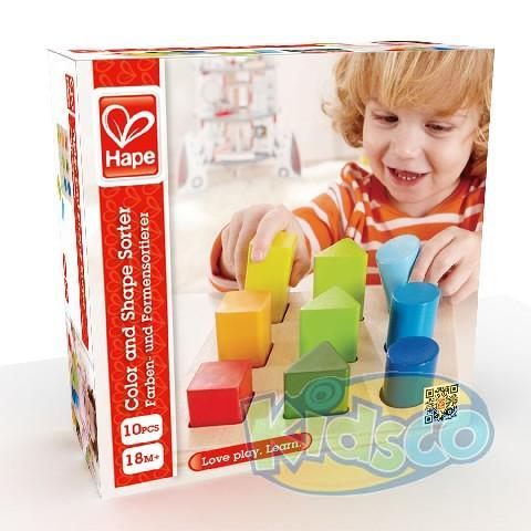 HAPE-COLOR AND SHAPE SORTER/FS