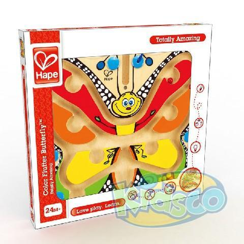 HAPE-COLOR FLUTTER BUTTERFLY