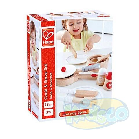 HAPE-COOK & SERVE SET