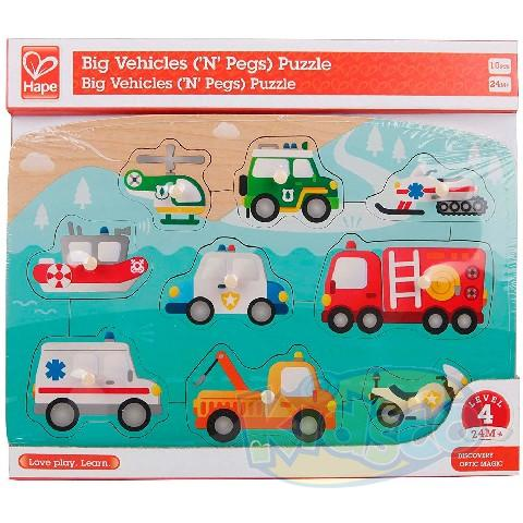 HAPE-EMERGENCY PEG PUZZLE