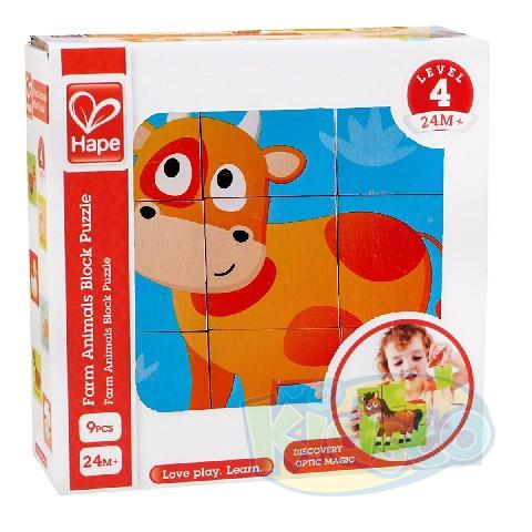 HAPE-FARM ANIMAL BLOCK PUZZLE